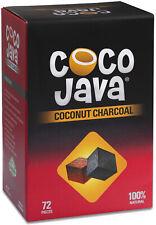 Coco Java Coconut Charcoal Natural Hookah Coal Shisha 72 Pieces / 1 KG Cubes