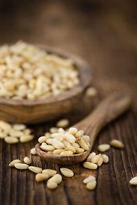 1 kg | Pinienkerne | Grade A1 naturbelassen | pflanzlich | fein & aromatisch