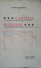 Bacile di Castiglione Gennaro - Castelli pugliesi [Roma, 1927]