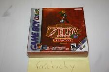 Zelda Oracle of Seasons (Game Boy Color) NEW SEALED FIRST PRINT FOIL BOX, NM!