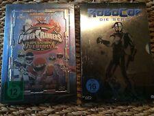 Robocop Serie & Power Rangers Seasen 1.1 Dvd Steelbook Box Neu