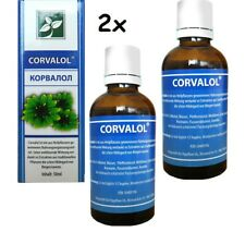 2x Corvalol Корвалол Drops Extracts Traditional Plant, 2x 1.7oz