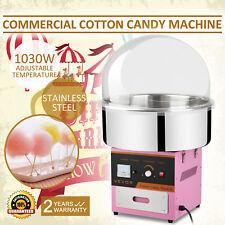 PROFI Zuckerwattemaschine Zuckerwatte Candymaker Maschine mit Abdeckhaube