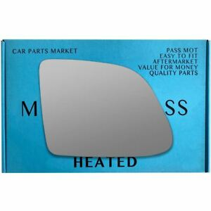 Right Driver side wing mirror glass for Rolls-Royce Wraith 2013-2020 heated