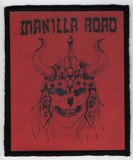 MANILLA ROAD PATCH / SPEED-THRASH-BLACK-DEATH METAL