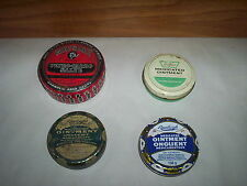 4 Vintage Watkins Ointment & Savle + Rawleigh Medicated Ointment Tins Cans Lot