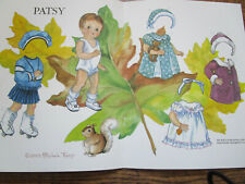 Vtg 2003 Michele Thorp Patsy Paper Doll Uncut Magazine Paper Doll