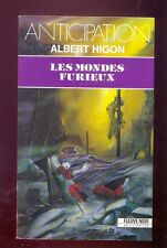 Fleuve Noir Anticipation 1840 Albert HIGON (Michel JEURY) Les mondes furieux