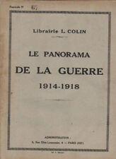 LE PANORAMA DE LA GUERRE 1914-1918  fascicule N° 67