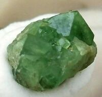 Natural Terminated Green Garnet Twin Rare Crystal from Kharan Pakistan US SELLER
