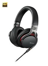 Sony MDR-1A Premium Hi-Res Stereo Headphones, Black, BRAND NEW SEALED