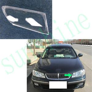 1xfor Nissan SUNNY 2000-2004 Car Left Side Headlight Transparent Cover Hardening