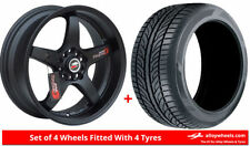 Lenso Wheels with Tyres D-1 Model