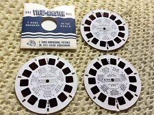 Viewmaster - Walt Disney Characters - 3 x Reel Set