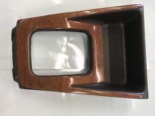 1998-2002 Subaru Forster Oem Center Console Shifter Bezel With Woodgrain