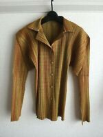 issey miyake pleats please top shirts made in japan F/S excellent size 3