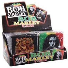 12 piece Bob Marley CIGARETTE CASE  METAL ,different designs
