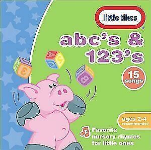 Little Tikes ABC's & 123's by Various Artists (CD, Apr-2005, Little Tikes)