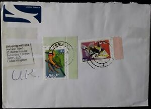 South Africa Airmail Cover to GB - 2010