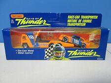 Matchbox Days of Thunder Race Car Transporter Hardees International Version