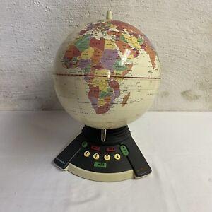Geosafari World Exploratoy Model 6490 Electronic Talking Globe Geography Game