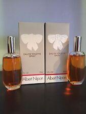 Albert Nipon Eau De Toilette Spray 1 oz / 30 ml (Lot of 2 pcs)