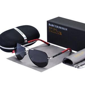 Men's Polarized UV400 Protection Driving Pilot Gradient Quality Sun Glasses