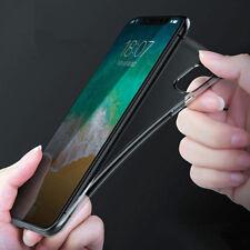 Para iPhone 11 Pro Max XS X Xr 8 7 claro goma suave TPU silicona caso cubierta trasera