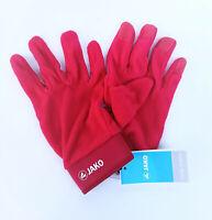 JAKO Feldspielerhandschuhe Handschuhe Winter Fleece Herren Fußball Rot 2505-01