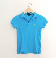 Women's Ralph Lauren Aqua Polo Shirt Size XS
