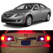 White LED Reverse / Back Up Lights For Mazda 6 2003-2013 2010 2011 2012 2013