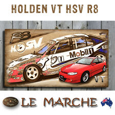 HOLDEN VT HSV CLUBSPORT R8 Wooden Rustic Plaque / Sign (FREE POST)