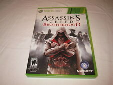 Assassin's Creed: Brotherhood (Microsoft Xbox 360) Complete Nr Mint!