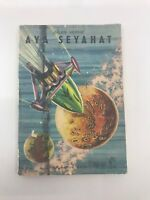 FROM THE EARTH TO THE MOON - 1960s 60s - MEGA RARE - Foreign Novel - VERNE - G