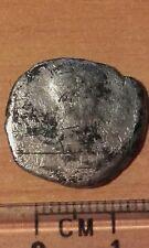 Moneda 1335 denario de plata Román Coín moneda romana denario de plata