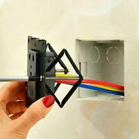 6/10pc Switch Repair Wall Mount Box Cassette Support Electricity Tool Rod X5Z0