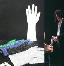 Retro MJ Michael Jackson Colorful Crystal Rhinestone Handmade Collection Glove