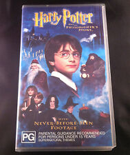 Harry Potter and the Philosopher's Stone - Video Cassette VHS
