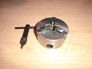 Dreibackenfutter mit Flansch EMCO Compact 5, 80mm neu
