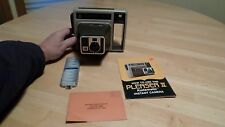 KODAK INSTANT COLOR FILM - PLEASER II CAMERA - FLASH BULB- INSTRUCTION - BOX
