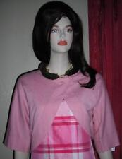 Central Park West Pink Cashmere Silk Sweater Shrug NWT