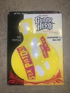 New In Box SEX PISTOLS Guitar Hero Les Paul FACEPLATE for xBox 360 PS3 🔥🙏