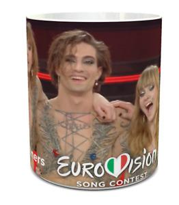 Maneskin  Ceramic Mug, Maneskin Eurovision winners 2021, Maneskin Eurovision