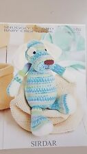 Sirdar Knitting Pattern #1458 Toy Dog to Knit in Snuggly DK & Crofter DK