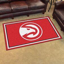 Atlanta Hawks 4' X 6' Decorative Ultra Plush Carpet Area Rug