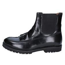 scarpe uomo J. BREITLIN 40 stivaletti nero pelle BX181-40