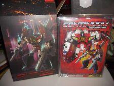Transformers RARE MMC R-01G CONTINUUM GRANDUS HEXATRON / VICTORY GREATSHOT MIB