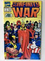 The Infinity War #1 1992 NM- Marvel Comic  Spiderman, Wolverine,Thanos