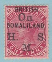 BRITISH SOMALILAND O2  MINT HINGED OG * NO FAULTS VERY FINE !