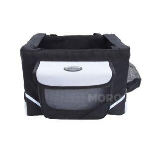 Pet Dog Rabbit Travel Carry Bag Carrier F Bike Bicycle Front Basket+Safe Belt